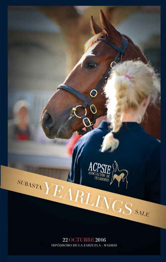 Catálogo subasta yearlings ACPSIE 2016